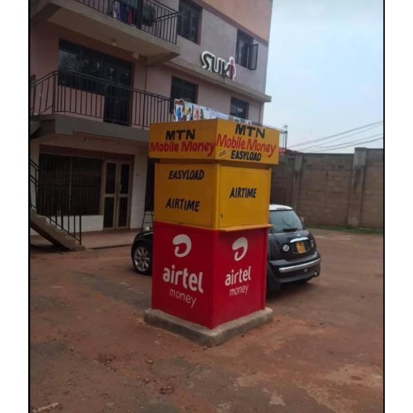 Mobile money kiosk for rent - 1/2