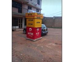 Mobile money kiosk for rent