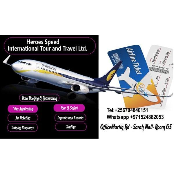 Heroes Speed Tour & Travel Ltd - 1/1