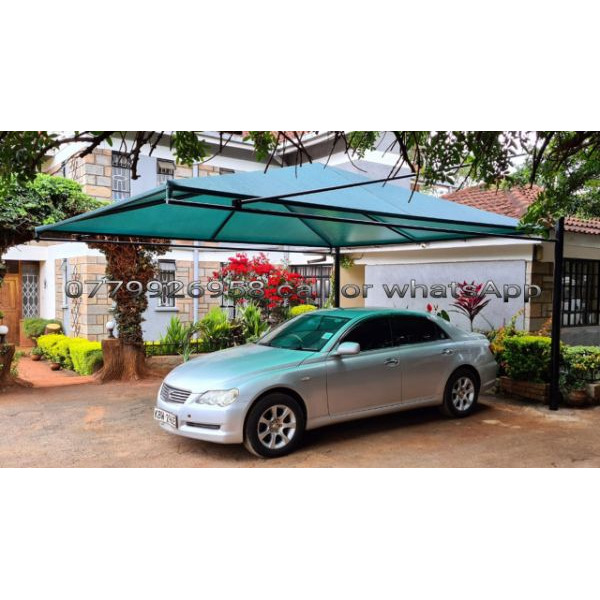 Car shade canopy water and sun proof 100% - 1/5