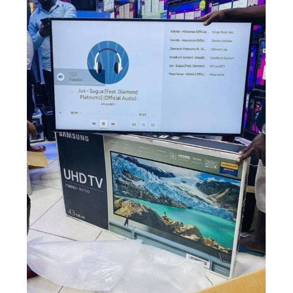 32inch flat screen TV brand new with inbuilt decoder find us at sbcity plaza opposite old taxi Park - 2/5