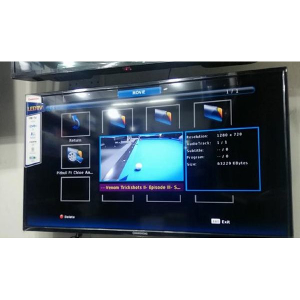 32inch flat screen TV brand new with inbuilt decoder find us at sbcity plaza opposite old taxi Park - 3/5