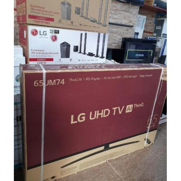 32inch flat screen TV brand new with inbuilt decoder find us at sbcity plaza opposite old taxi Park - 4/5