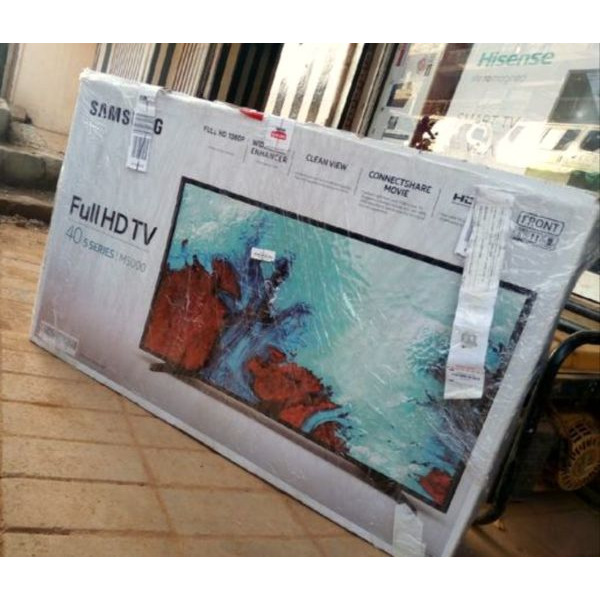 32inch flat screen TV brand new with inbuilt decoder find us at sbcity plaza opposite old taxi Park - 5/5