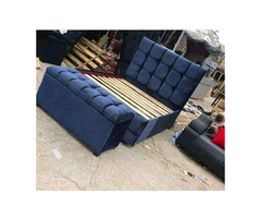 Leather bed  classic rock