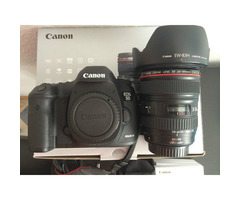 Canon EOS 5D Mark III Digital SLR Camera with EF L IS USM 24