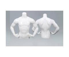 Men upper body shop display