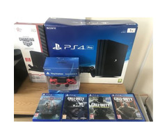 Free: sony ps4 pro 1tb 4k box 4 games god of war Whatasp me +91-8259966459