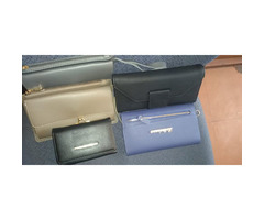 Brand new leather wallet bags for ladies