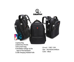 best strong backpack POLO GATE OMAYGE BAG
