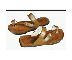 Leather sandles