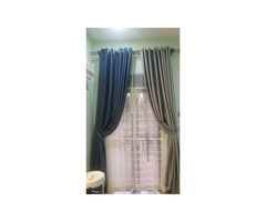 Curtains,curtain rods office blinds