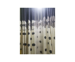 Curtains and curtains rods
