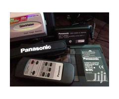 Panasonic video camera with out a charger