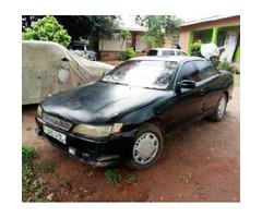 Toyota Mark II 1992 Black